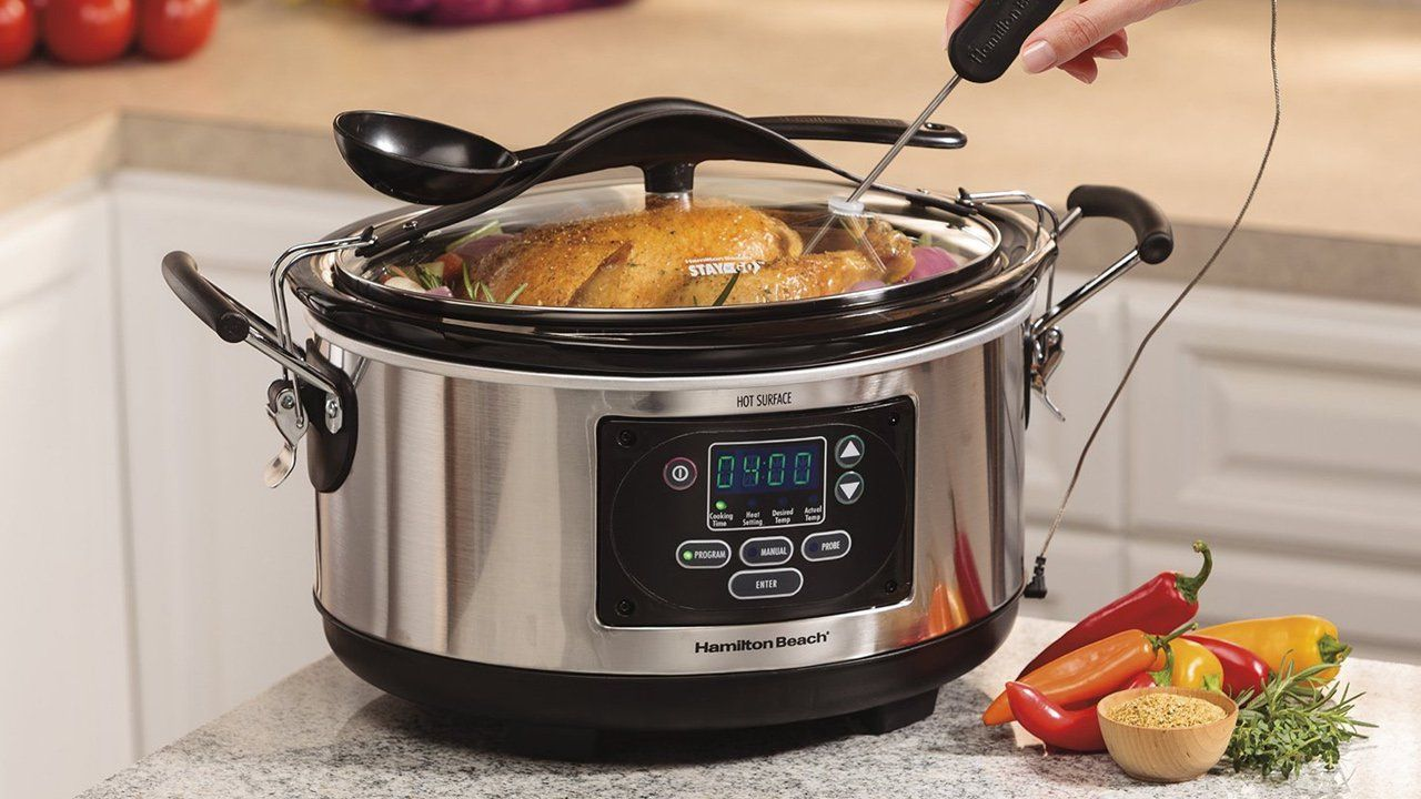 lifehacker: RT KinjaDeals: Hamilton Beachs Set n Forget is a slow cooker youll actually use on sale today only https://t.co/6uMbQi51uE