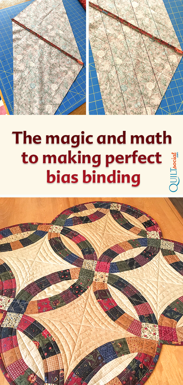 The Magic And Math To Making Perfect Bias Binding Quilt