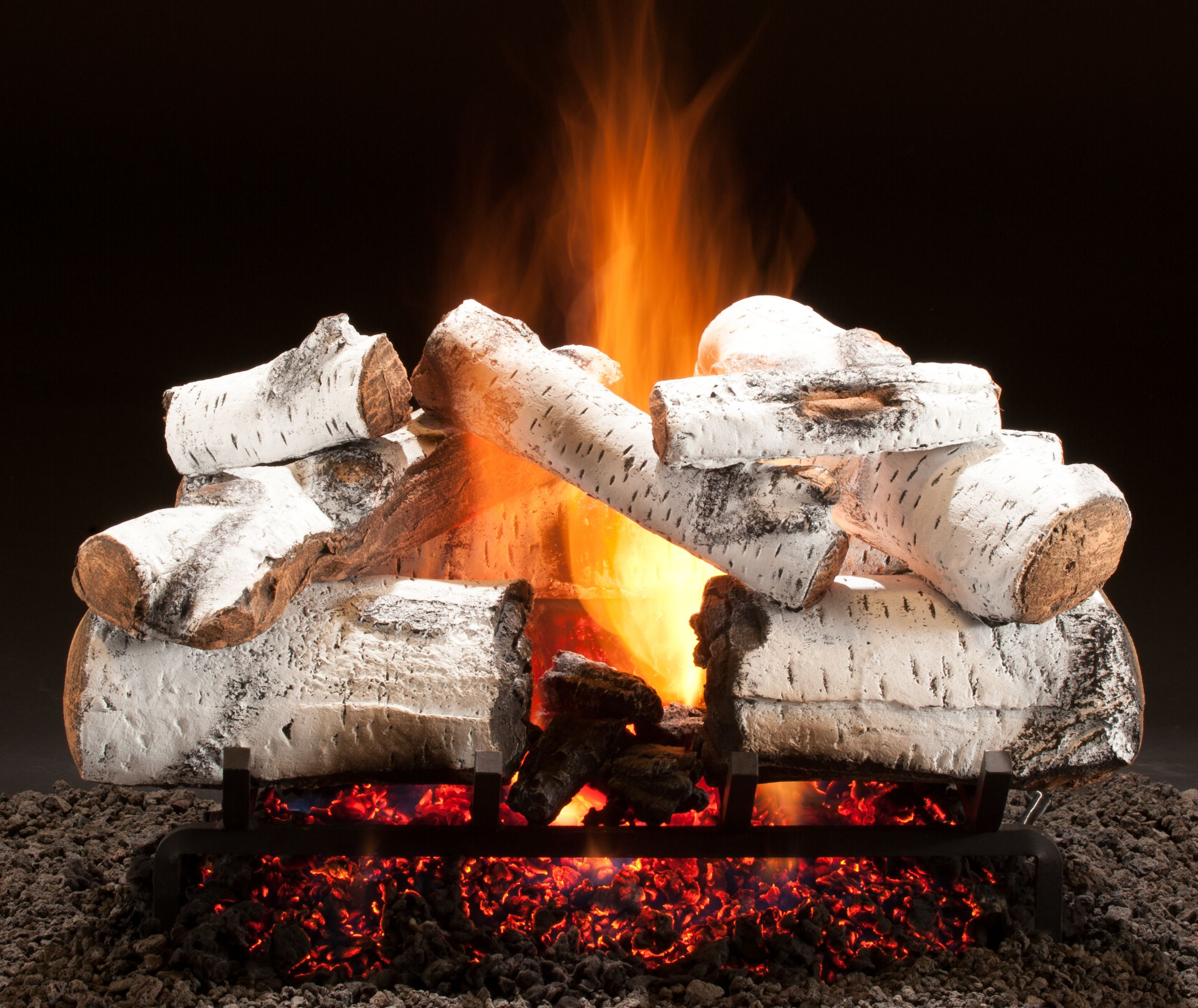 birch real home logs log width inspirational awesome fireplace gas fyre inch peterson outdoor white set imgsizet bordercolor height modern with of
