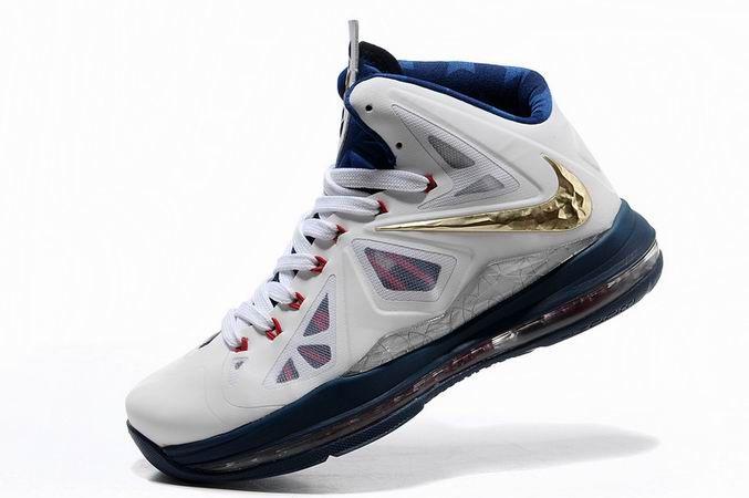 Nike Zoom LeBron 10 X White/Navy Gold/Medal, cheap Nike Lebron If you want  to look Nike Zoom LeBron 10 X White/Navy Gold/Medal, you can view the Nike  Lebron ...
