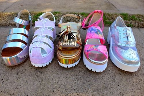 Summer fashion platform sandles FIRST LIAR IN THE WORLD