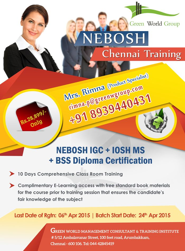 Pin By Greenworld Group On Nebosh Course Green World Group
