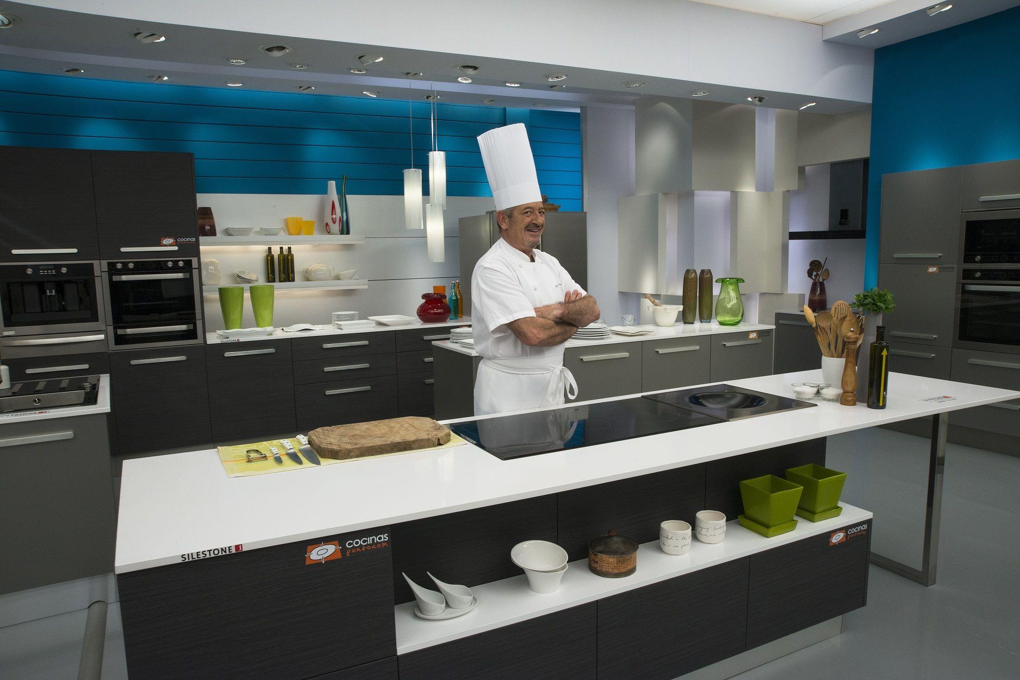 Segunda Cocina Montada Por Cocinas Com Para El Programa De Karlos Arguiñano En Mayo De 2013 Tiendas De Cocina Mobiliario De Cocina Cocinas