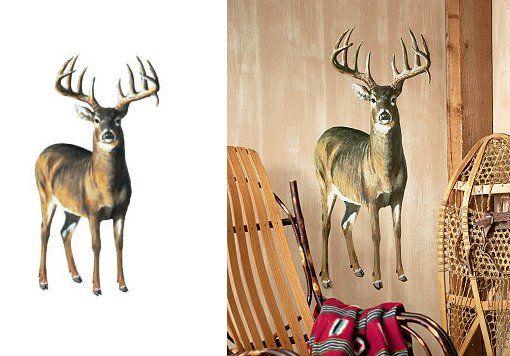 Deer Wall Decals | Wallies Deer Wall Mural
