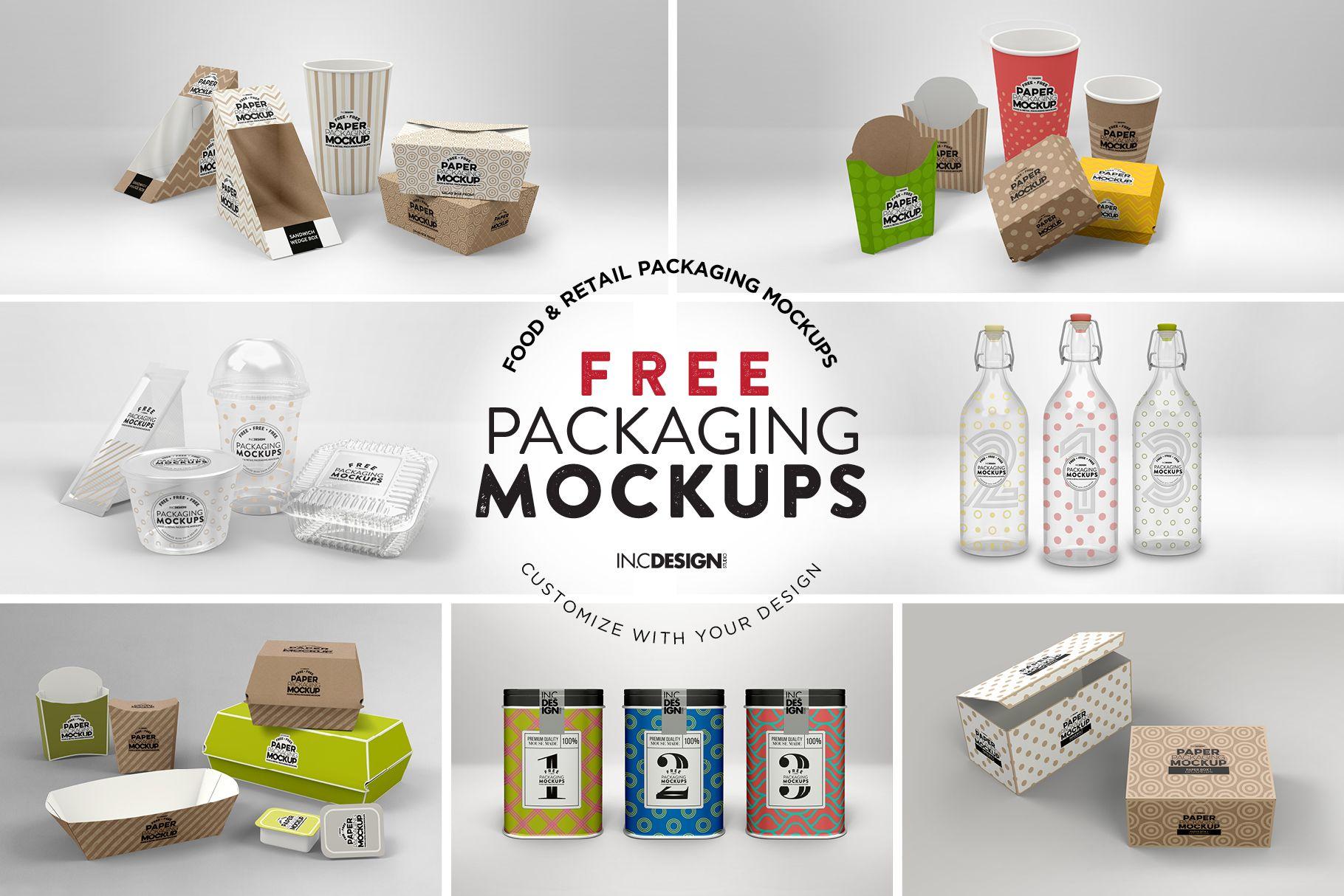 Download Bundle Paper Packaging Mockup Packaging Mockup Packaging Bottle Mockup