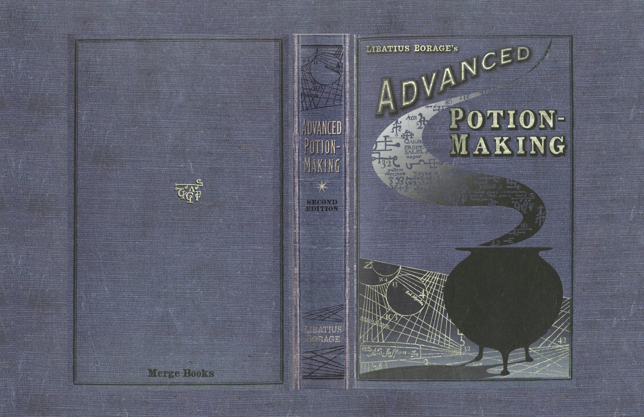 How To Make A New Book Cover : Advanced potion making book cover files harry potter