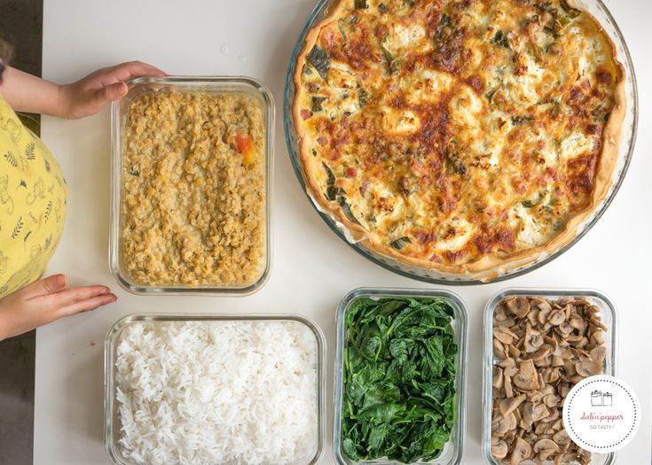 Batch cooking : cuisiner en une fois tous les repas de la semaine - Sab'n'Pepper