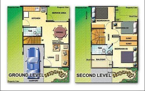 two storey house floor plan designs philippines ...