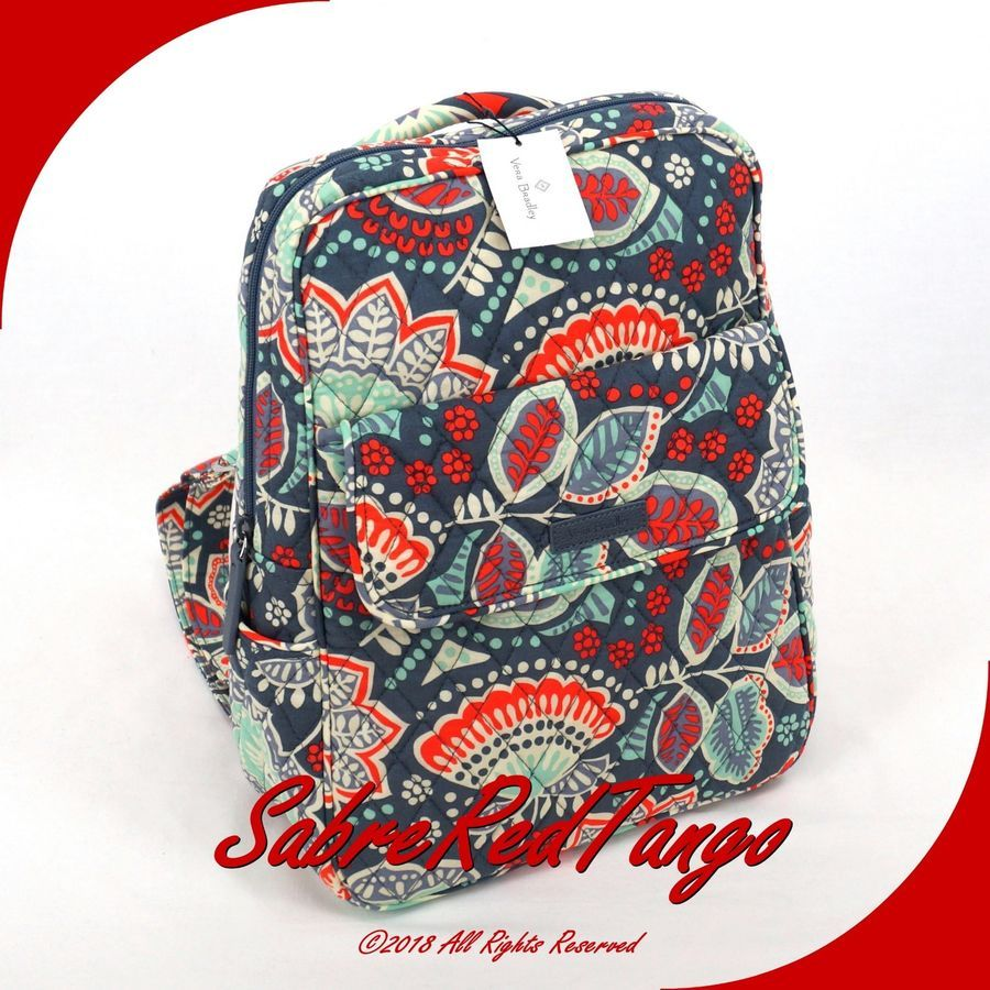 01a735df07 NWT VERA BRADLEY QUILTED SMALL PETITE BACKPACK BRADLEY VERA NWT ...