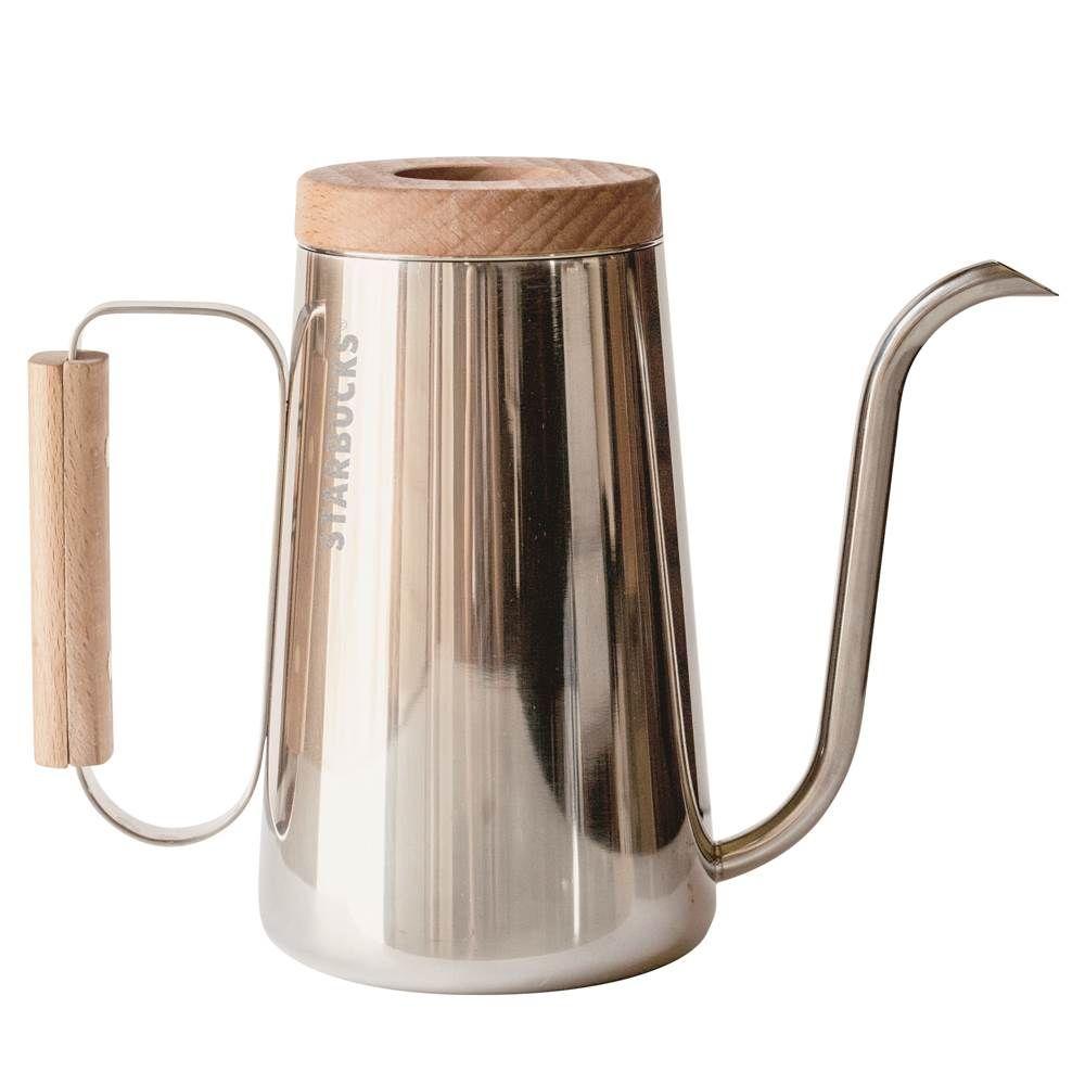 Wood Handle Coffee Pot-Taiwan