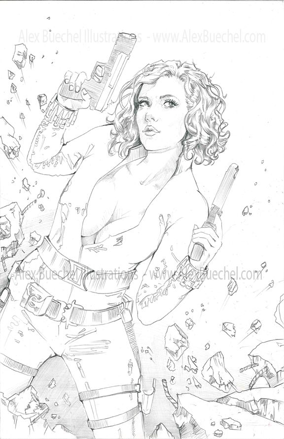 Black Widow - Update by AlexBuechel on DeviantArt | SEXY COMIC HERO ...