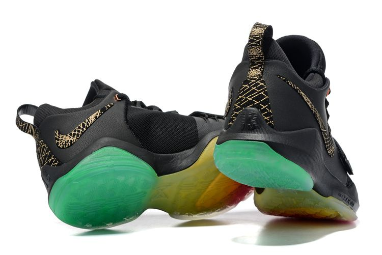 Official Newest Nike PG 1 Rise and Shine Iridescent Gold Black Rainbow f2d1c26b822f