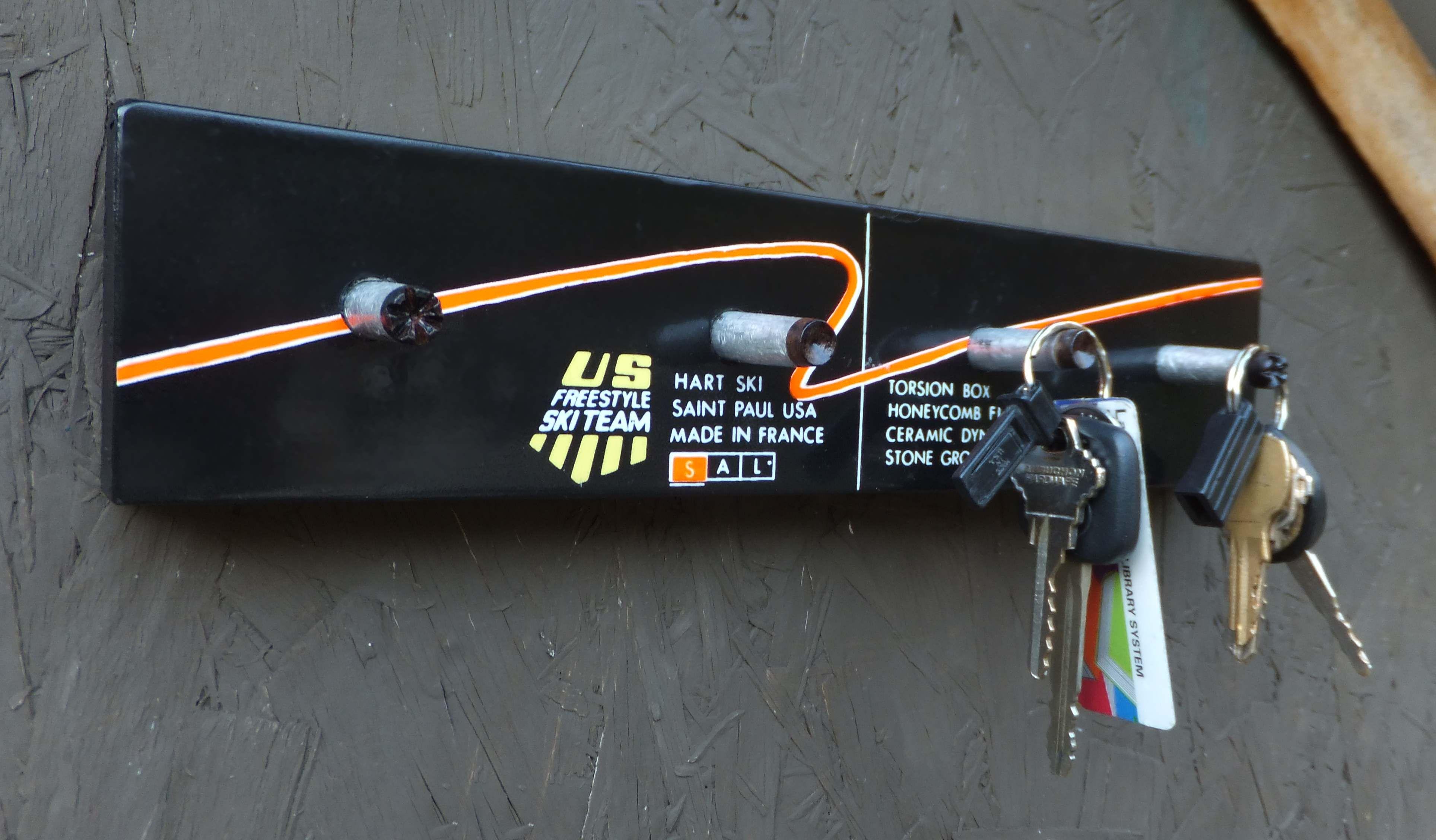 Custom Key Rack Made From Pole Tips Key Rack Lake Placid