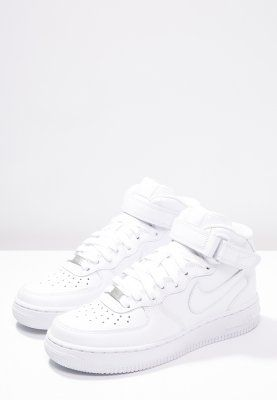 AIR FORCE 1 '07 MID - Sneakers hoog - white @ Zalando.be ...