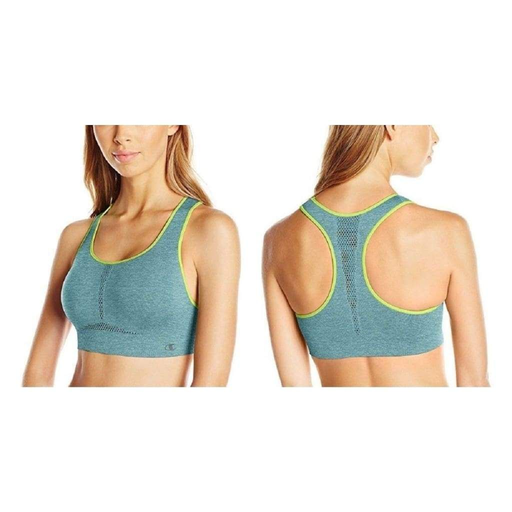 c6f20701c3 Champion The Infinity Shape Racerback Seamless Sports Bra B0826H XS S M L XL