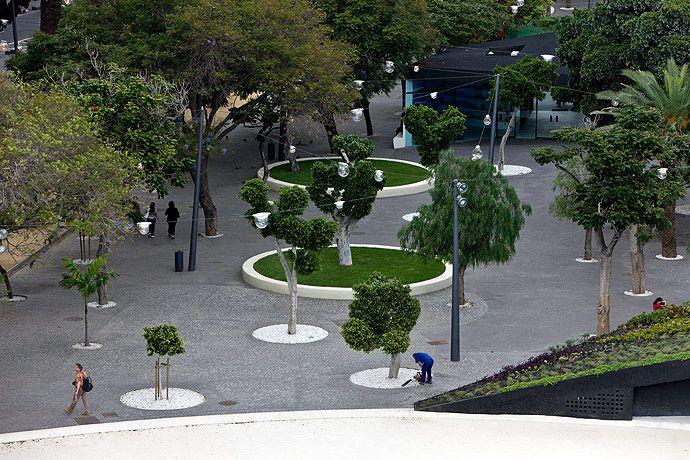 Plaza España by Herzog & de Meuron / Santa Cruz de Tenerife, Spain