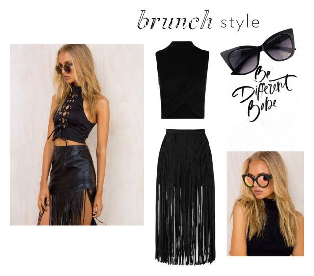 """Brunch"" by blonde-4 ❤ liked on Polyvore featuring Quay"