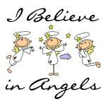 I Believe in Angels T-shirts and Gifts