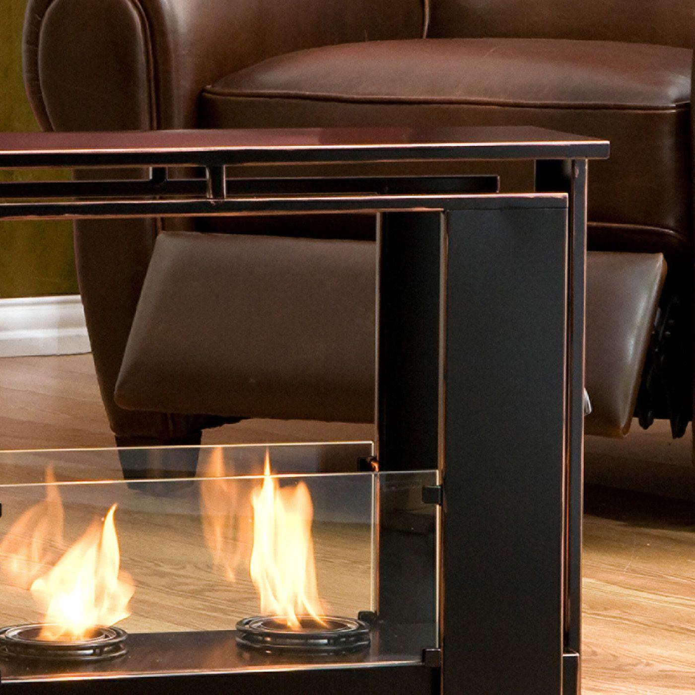 Wildon Home Kilgore Portable Gel Fuel Fireplace Indoor Outdoor Fireplaces Portable Fireplace Indoor Fireplace