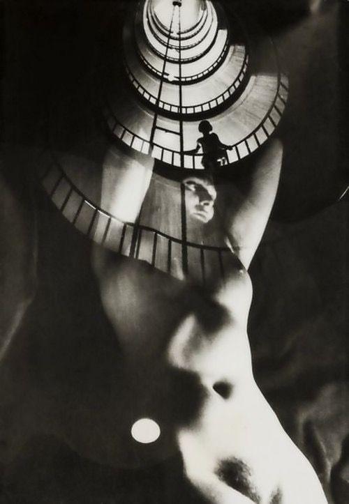 Franz Roh (1890 – 1965) • Akt im Treppenhaus, 1922–1928