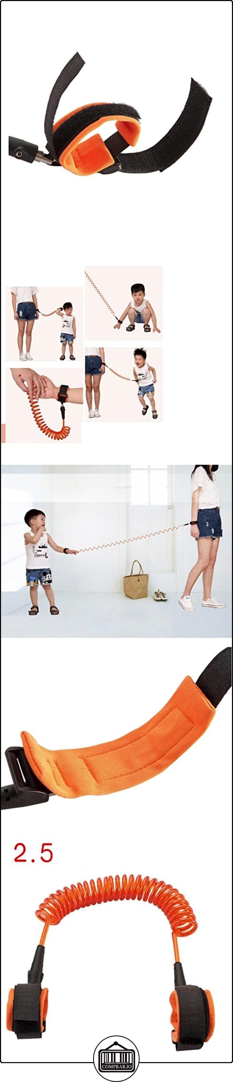 HOME perdida anti del niño-tracción de la cuerda del bebé niño Anti-perdido pie de la correa de la correa Mochila anti-pérdida del cinturón de seguridad editaron Naranja Azul ( Color : Naranja , Tamaño : 2.5m )  ✿ Seguridad para tu bebé - (Protege a tus hijos) ✿ ▬► Ver oferta: http://comprar.io/goto/B01LZYLZVR