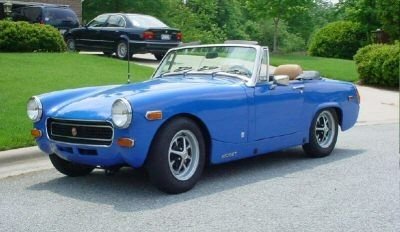Convertible mg midget top dick tho