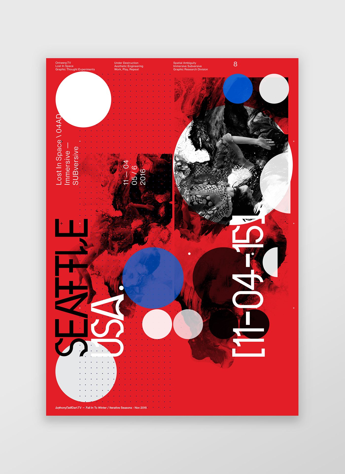 Popup Promo Poster Series Graphics Designed By Anthony Neil Dart Typography Graphic Poster Poster Design Inspiration