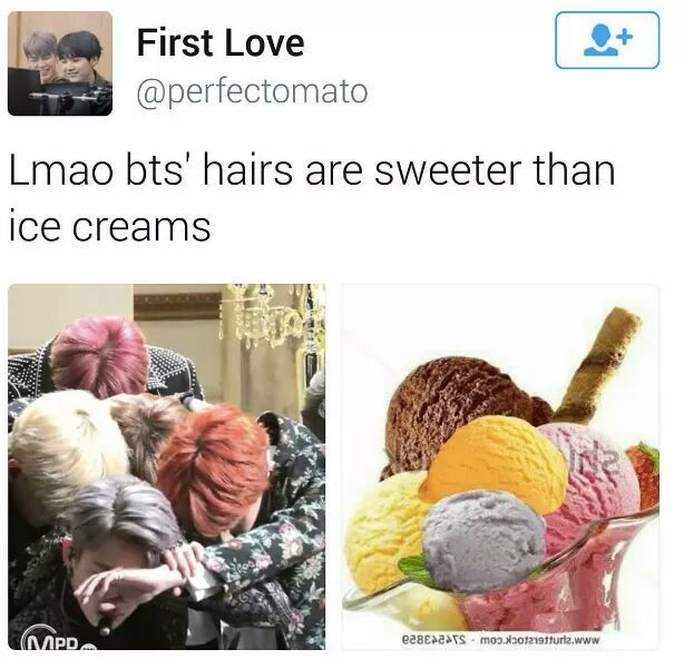 """I like this kind of ice cream though :"""">"""