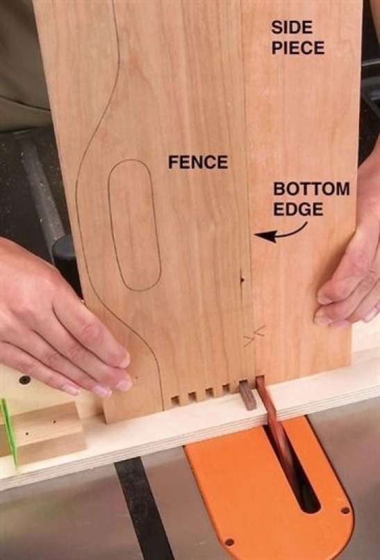 Tablesaw Box Joints