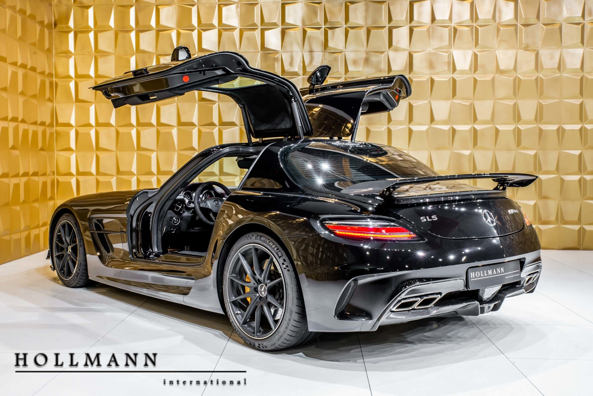 Mercedes Benz Sls Amg Black Series Hollmann International