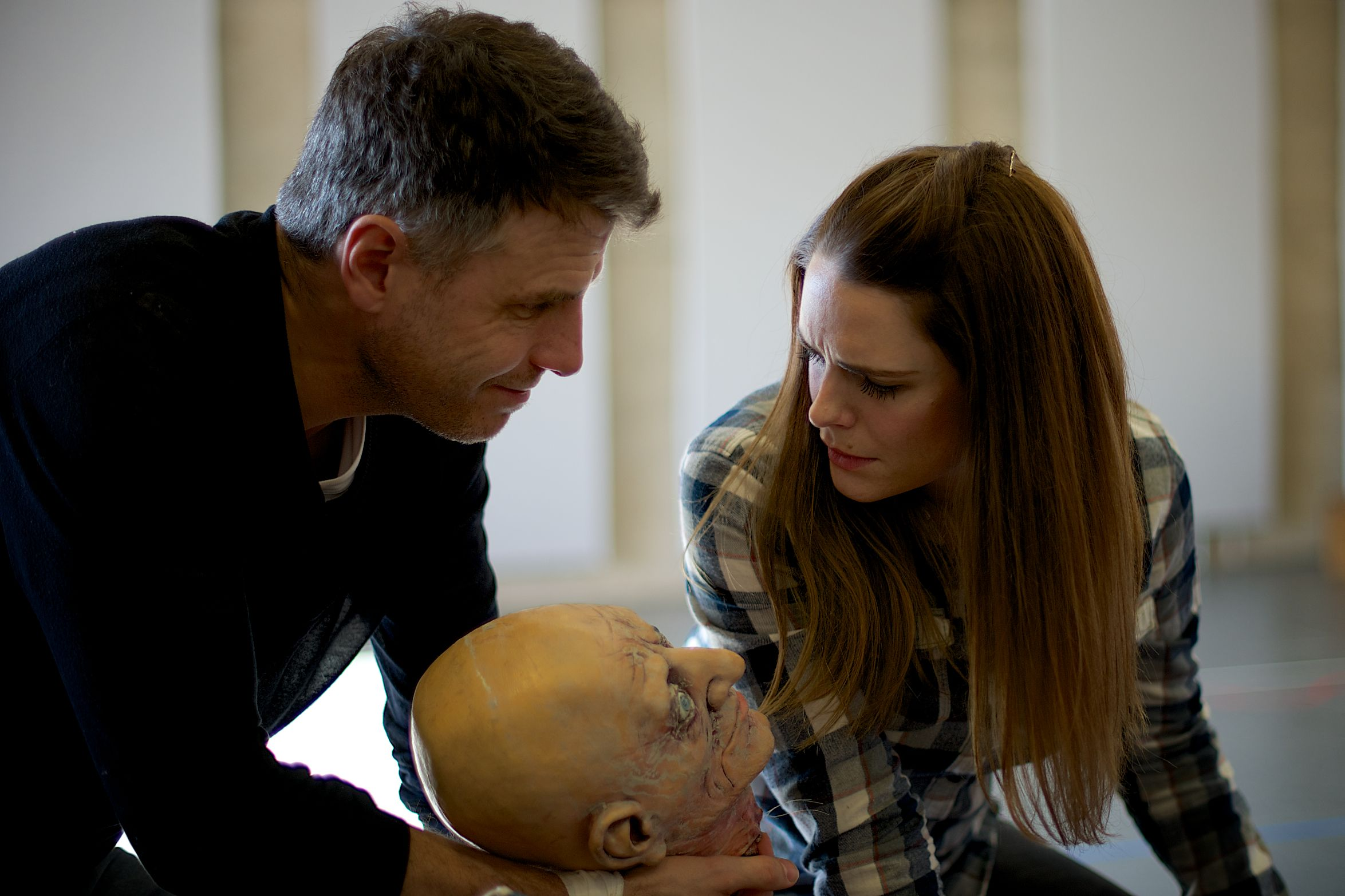 Susie Amy And Jason Durr In Rehearsal New Shows Amy