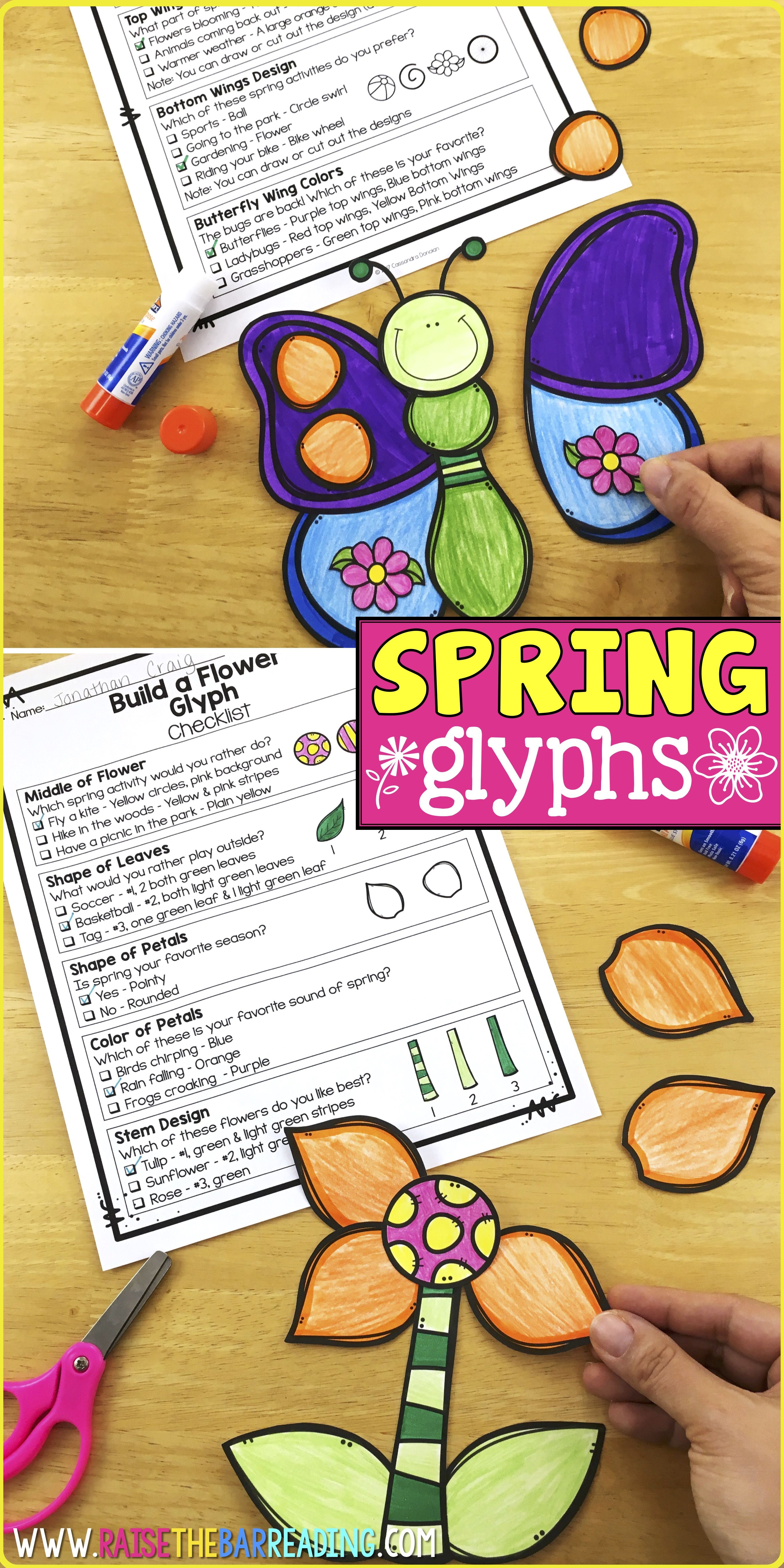 Low Prep Spring Activities For Elementary Students