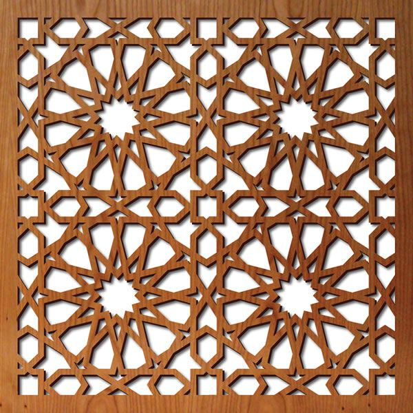 Laser cut wood screen star pattern pinterest star patterns - Design on wooden ...
