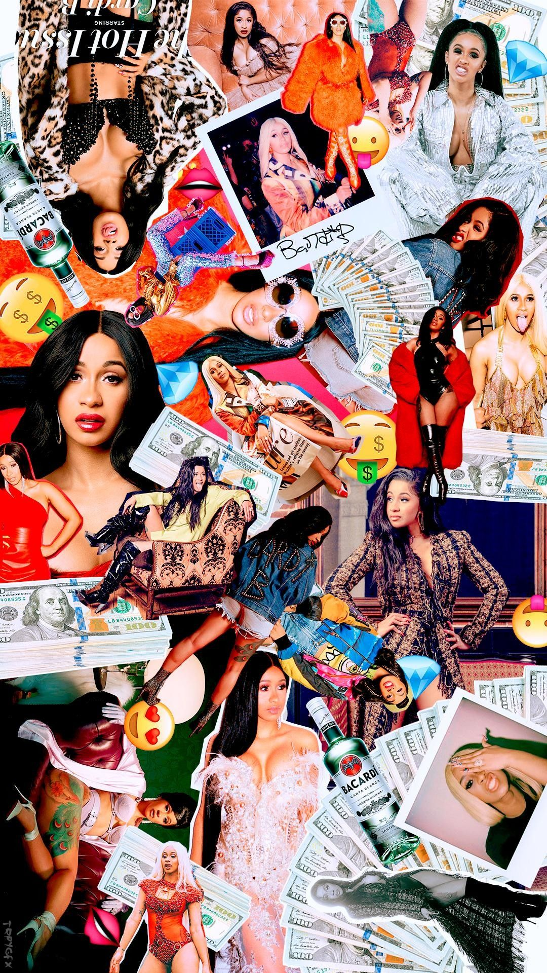 Pin By Bethany Rojas On Pink In 2019 Cardi B Dope Wallpapers