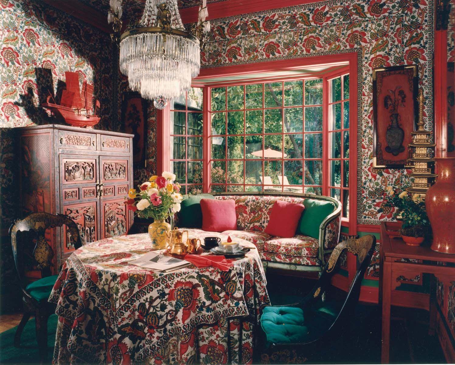 Designer Hutton Wilkinson Tony Duquette Inc Decorated This