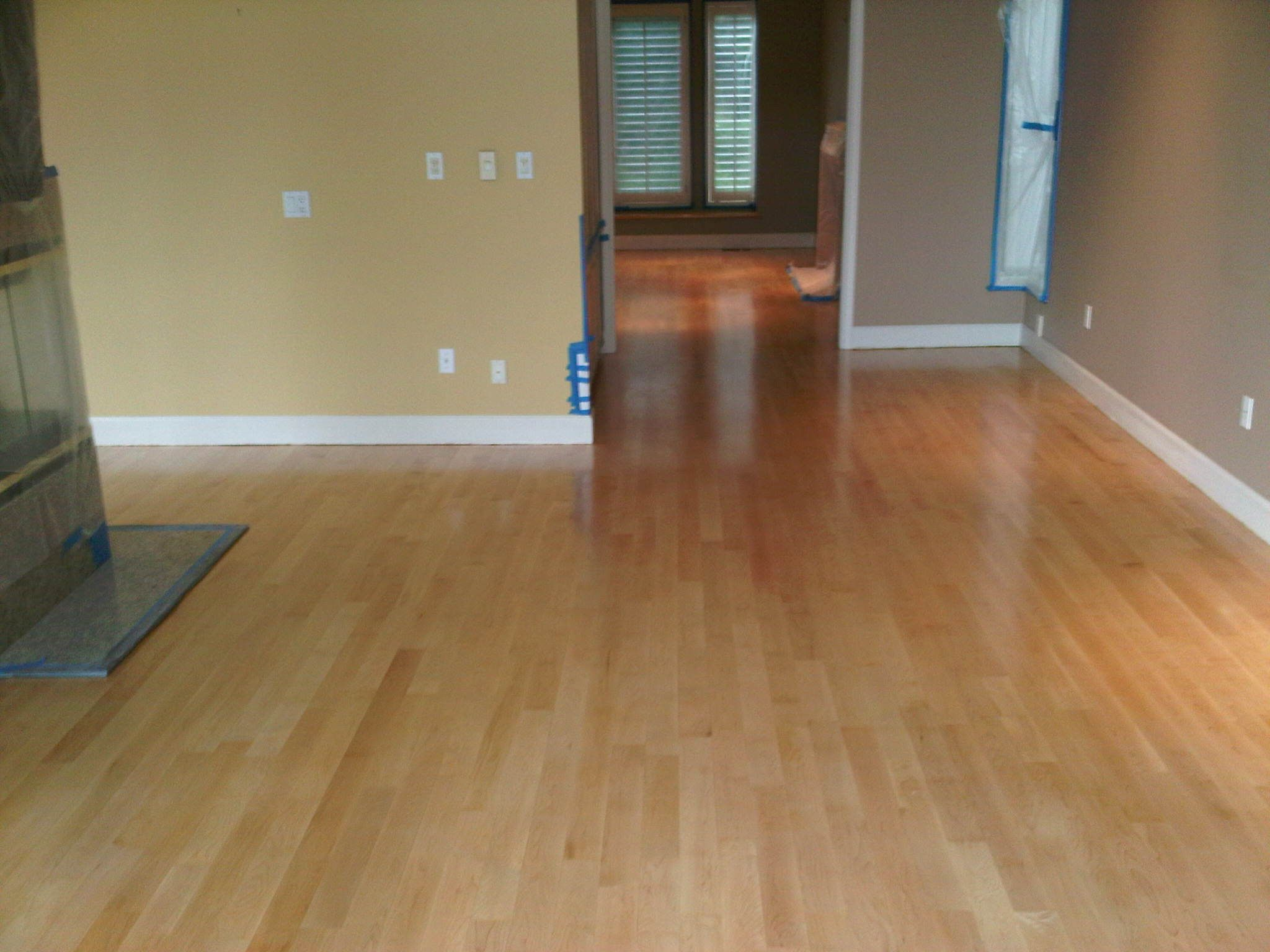 Greater vancouver all hardwood floor refinishing first for Staining hardwood floors