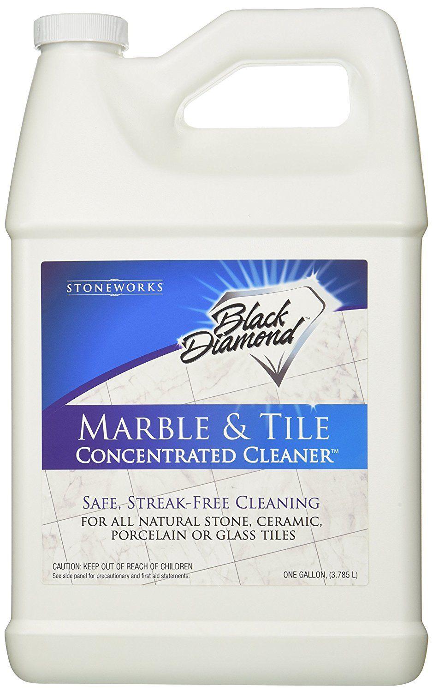 Black Diamond Marble Tile Floor Cleaner Great For Ceramic Porcelain Granite Natural Stone