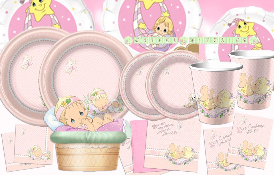 Precious Moments Girl Party Supplies - Party Supplies at PartyNet.co ...