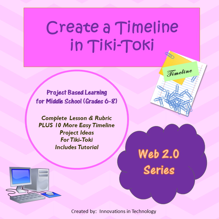 creating a timeline using tiki toki utilizes the free web 20 tool wwwtiki tokicom which allows students to create timelines online and then share their