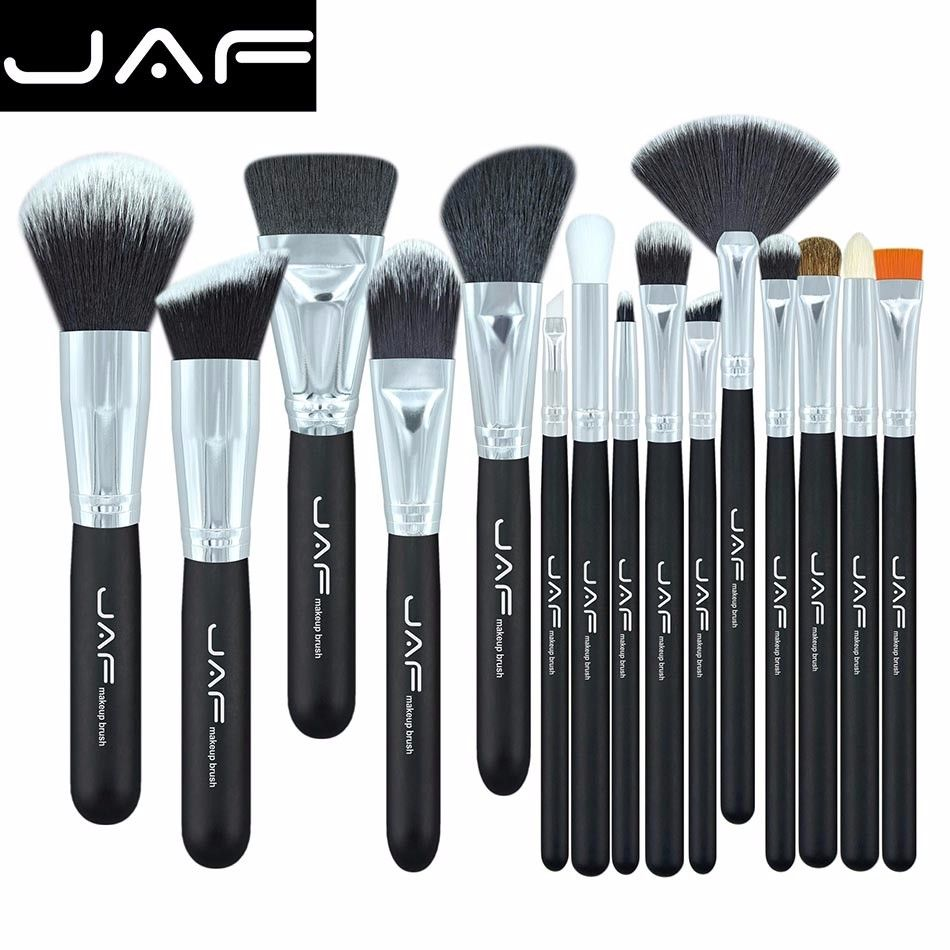 JAF Brand 15 pcs/set Makeup Brushes 15 pcs make up brush