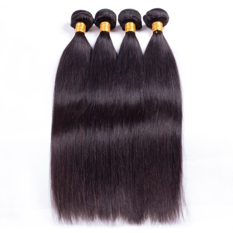 Nhair Mall Top Quality Peruvian Virgin Hair Straight4pcspack
