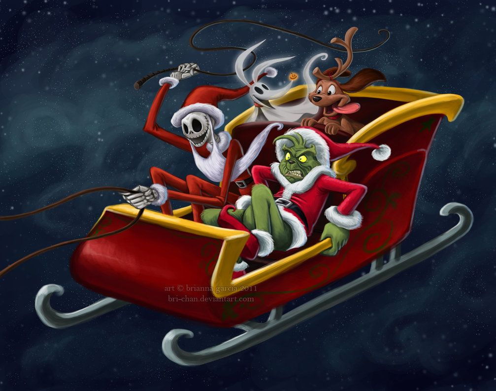 Grinch + The Nightmare Before Christmas Nightmare before