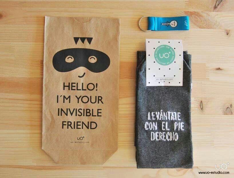 Paquete para envolver regalo amigo invisible about me - Paquetes originales para regalos ...