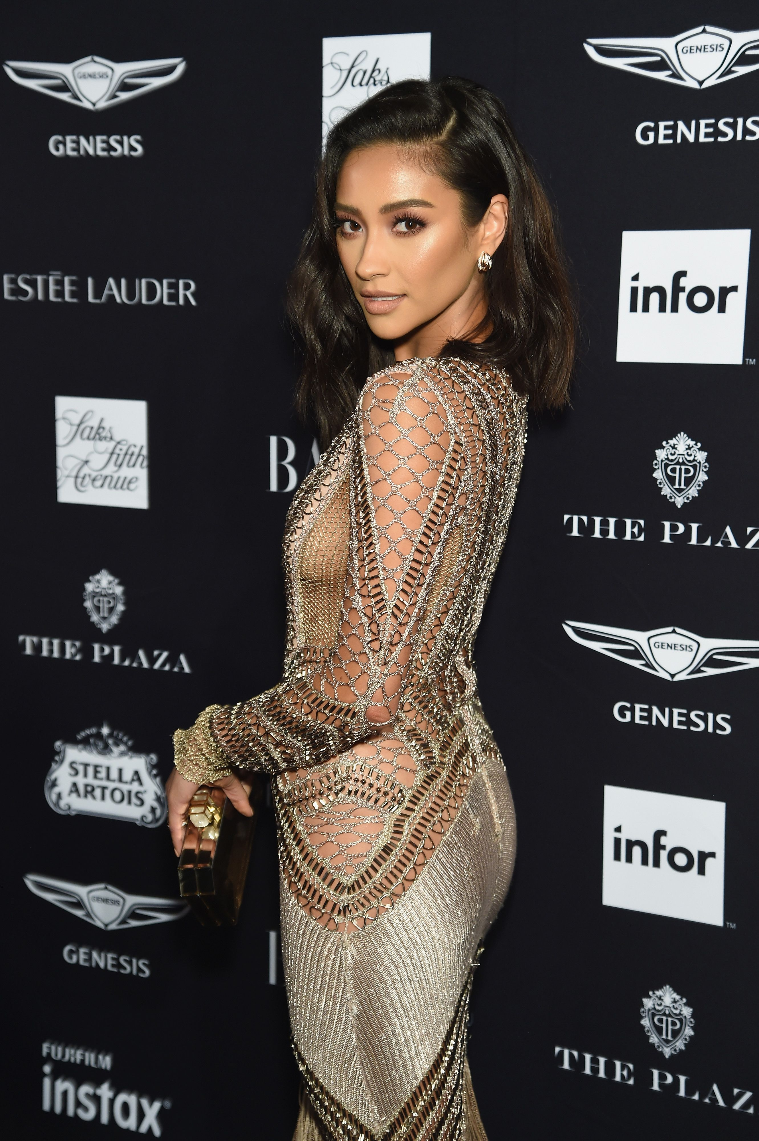 c9255c3fe1 Shay Mitchell - Harper s Bazaar ICONS party in New York
