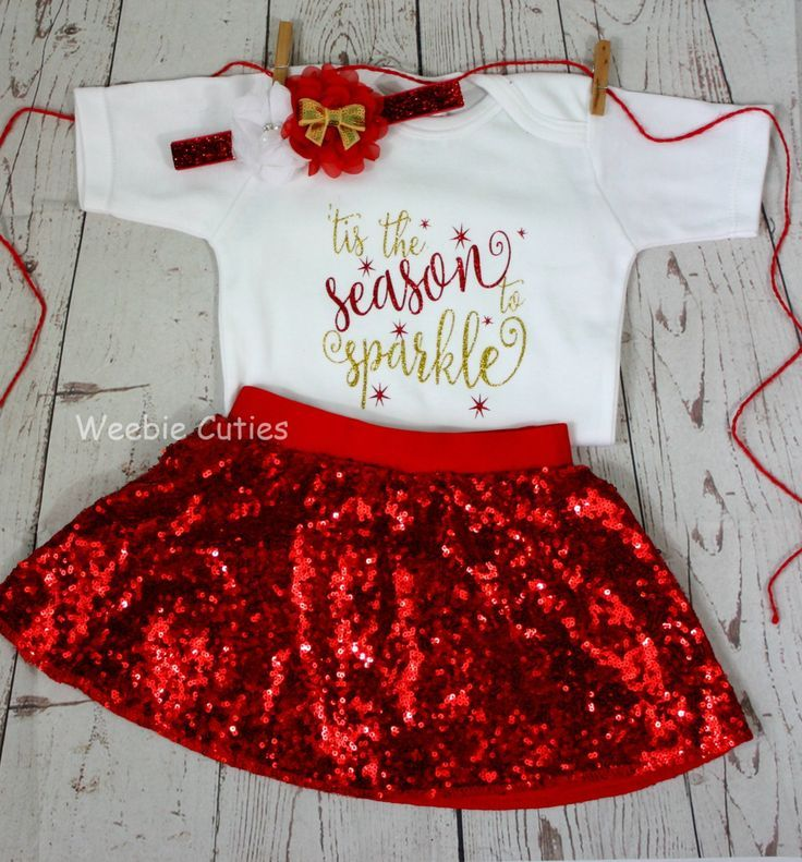 923fce08fd26e Baby Girl Christmas Outfit, Baby's First Christmas, Baby Girl Christmas  Dress, Baby's 1st Christmas, Baby Girl Clothes, Christmas Baby Girl by  WeebieCuties ...