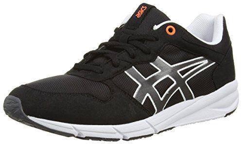 ASICS Shaw Runner, Unisex-Erwachsene Sneakers, Schwarz (black/light Grey 9016), 47 EU - http://on-line-kaufen.de/asics/47-eu-asics-shaw-runner-unisex-erwachsene