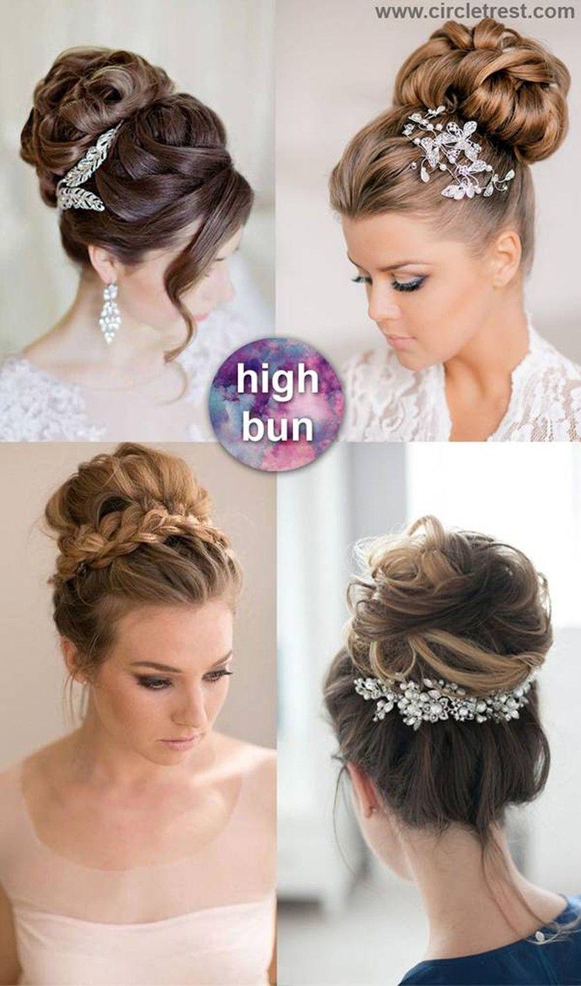 45 Glamorous Wedding Updos For Long And Medium Hair Medium Hair Styles Long Hair Updo Hair Styles