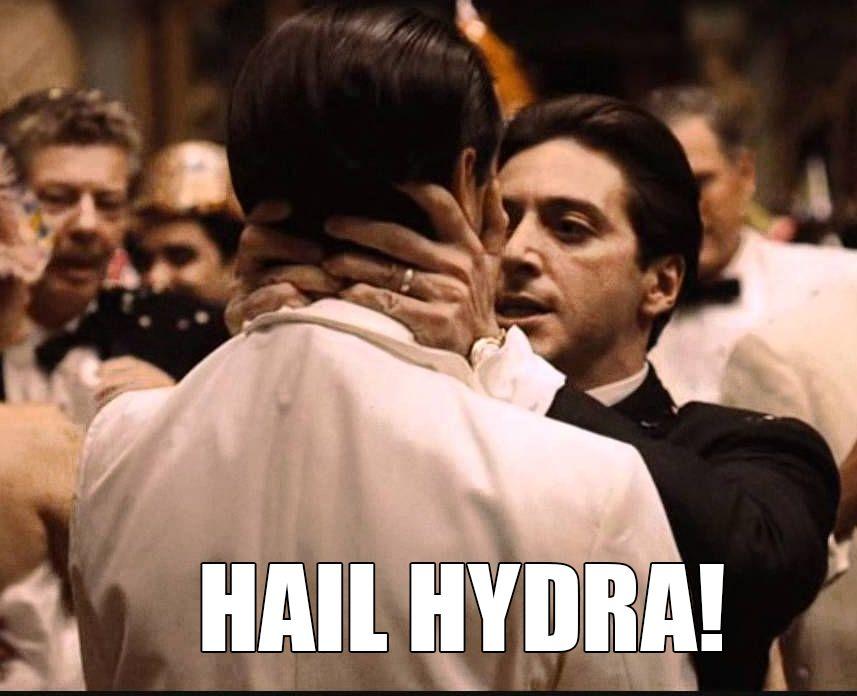 Godfather Michael Corleone And Fredo Hail Hydra