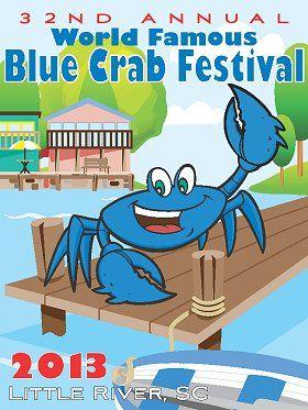 blue crab festival little river sc