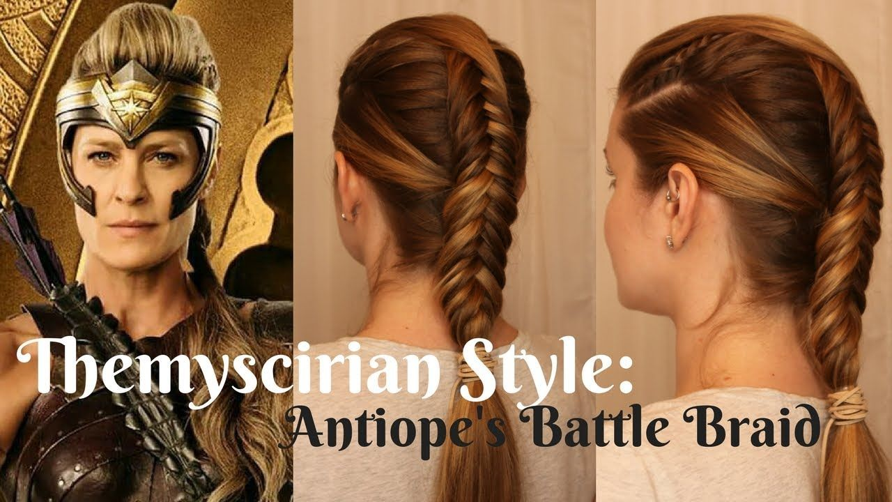 Wonderwoman Inspired Themyscirian Style Antiope S Battle Braid Hair Styles Cool Braid Hairstyles Womens Hairstyles
